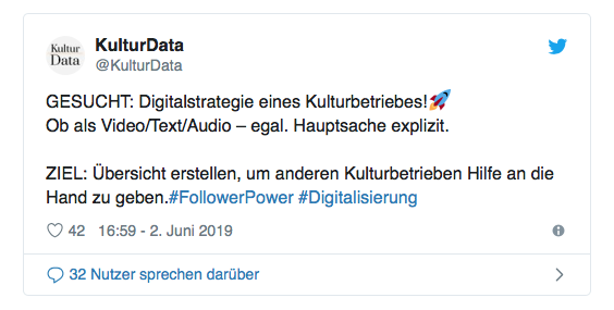 digitalstrategie Kulturbetrieb