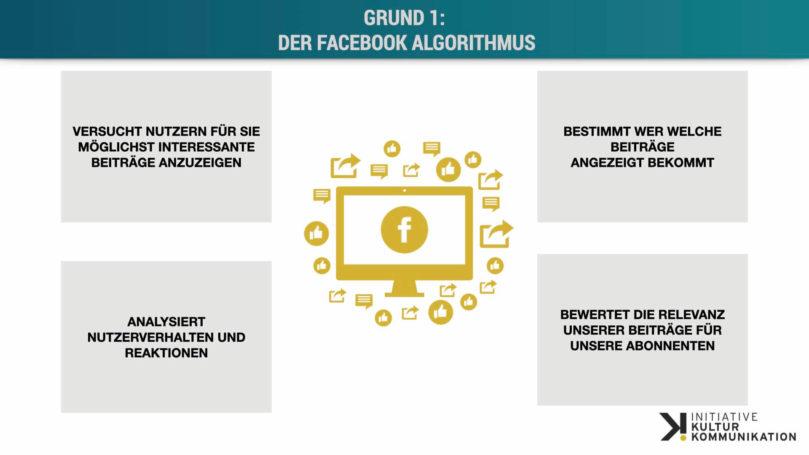 4 Gründe für geringere Reichweiten, Interaktionen und Shares auf Facebook